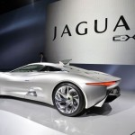 Jaguar C-X75 Supercar Concept (Video)