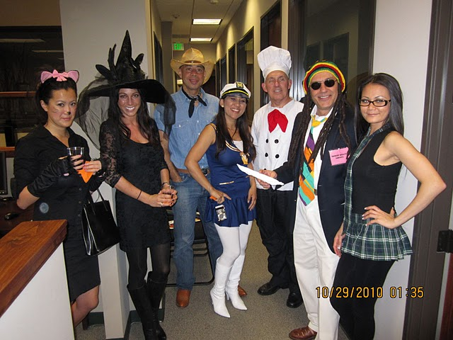 halloween office party